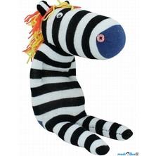 Kreativní sada - Postavička z ponožky, Zebra (Legler)
