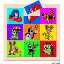 Skládací obrázky - Krtek a přátelé postavičky (Bino)