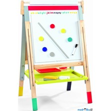 Kreslící tabule - Výškově nastavitelná, 91 až 126cm (Janod)