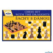Společenské hry - Šachy, dáma a mlýn (Detoa)