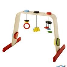 Hrazdička - Dřevěná hrazda pro miminka LEKA (Ikea)