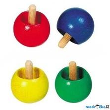 Drobné hračky - Káča dřevěná, Obracecí, 1ks (Goki)