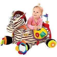K's Kids - Zebra RYAN velká s 28 způsoby zábavy