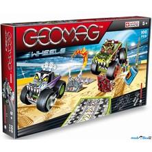 Geomag - Wheels 707, Monster Truck Show, tři auta, 100 dílků
