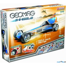 Geomag - Wheels B, jedno auto, 20 dílků