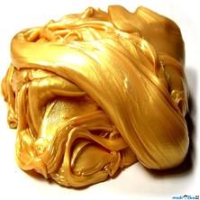 Inteligentní plastelína - metalická, Oslnivá zlatá
