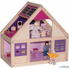 Domeček pro panenky - S vybavením, Trendy (Woody)