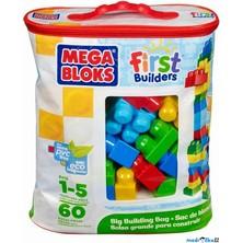 Mega Bloks - Kostky maxi v tašce, 60ks
