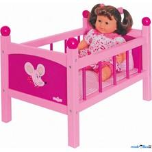 Postýlka pro panenky - Trendy s peřinkami (Woody)