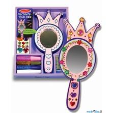 Kreativní sada - Dekorace, Zrcadlo princezny (M&D)