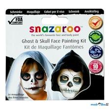 Snazaroo - Sada 3 barev na obličej, Strašidla