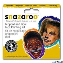 Snazaroo - Sada 3 barev na obličej, Lev