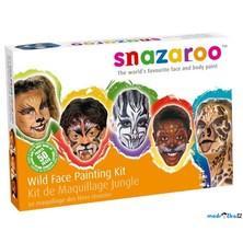 Snazaroo - Sada 8 barev na obličej, Zvířata