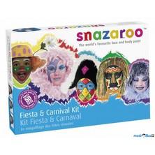 Snazaroo - Sada 8 barev na obličej, Karneval