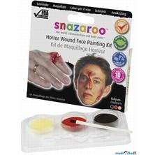 Snazaroo - Sada 2 barev na obličej s voskem, Střela