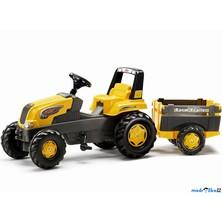 Rolly Toys - Šlapací traktor Junior s vlečkou, žlutý