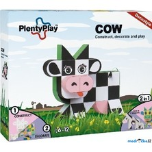 Plenty Play Decostyle - Stavebnice, Cow