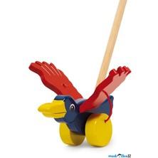 Jezdík na tyči - Pták s mávajícími křídly (Legler)