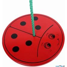 Houpačka - Houpací talíř barevný, Beruška (Bigjigs)