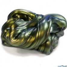 Inteligentní plastelína - měňavková, Super olejová skvrna