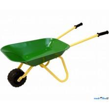 Zahradní kolečko - Kovové, zelené (Woody)