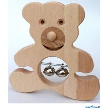 Hudba - Muzikální hračka, Medvídě s rolničkami (Makovský)
