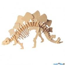 3D Puzzle přírodní - Stegosaurus