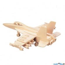3D Puzzle přírodní - F-18 Hornet