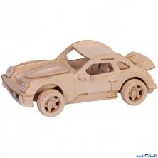 3D Puzzle přírodní - Porsche