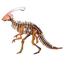 3D Puzzle barevné - Parasaurolophus