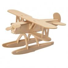3D Puzzle přírodní - Heinkel HE-51