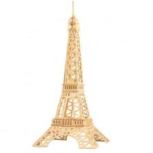 3D Puzzle přírodní - Eiffelova věž