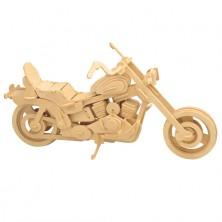 3D Puzzle přírodní - Harley Davidson I