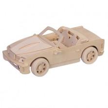 3D Puzzle přírodní - BMW