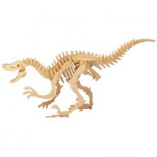 3D Puzzle přírodní - Velociraptor