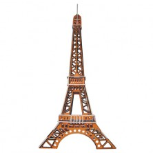 3D Puzzle barevné - Eiffelova věž