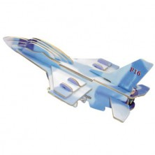 3D Puzzle barevné - Stihačka F-16