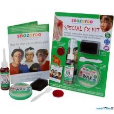 Snazaroo - Speciální efekty s voskem a krví