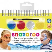 Snazaroo - Sada 4 barev na obličej, Mořští živočichové