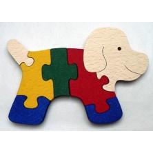 Puzzle z masivu - Pejsek (Makovský)
