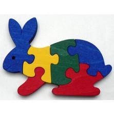 Puzzle z masivu  - Zajíc (Makovský)