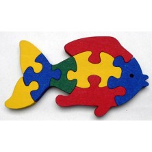 Puzzle z masivu - Ryba (Makovský)