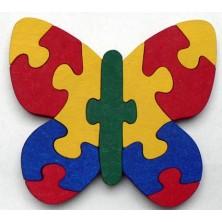 Puzzle z masivu - Motýl (Makovský)