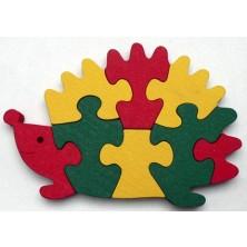 Puzzle z masivu - Ježek (Makovský)