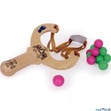 Dětská zbraň - Prak dřevěný (Legler)