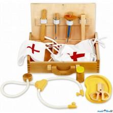Doktor - Set v dřevěném kufříku (Classic World)