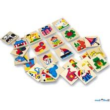 Obrázkové značky pro školky - Dřevěné 25 ks, SET 73513 (Bino)