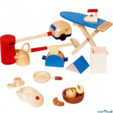 Nábytek pro panenky - Doplňky do kuchyně (Goki)
