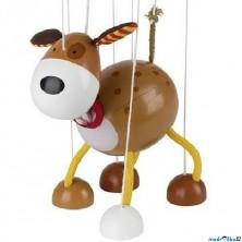 Loutka marioneta - Pejsek voříšek (Goki)
