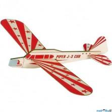 Letadlo házecí - Kluzák Piper J-3 Cub (Goki)